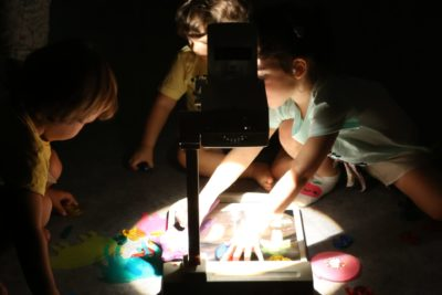 talleres itinerantes sensorial play