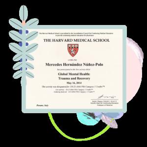 Certificado Mercedes Hernández